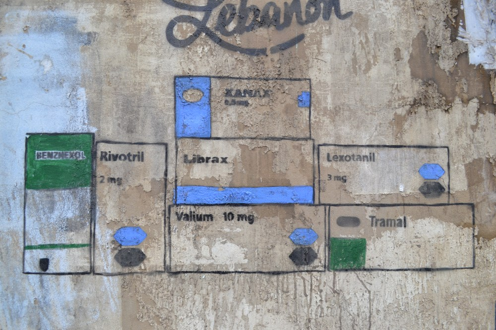 Beyrut Walls urban metaphor librax lexomil