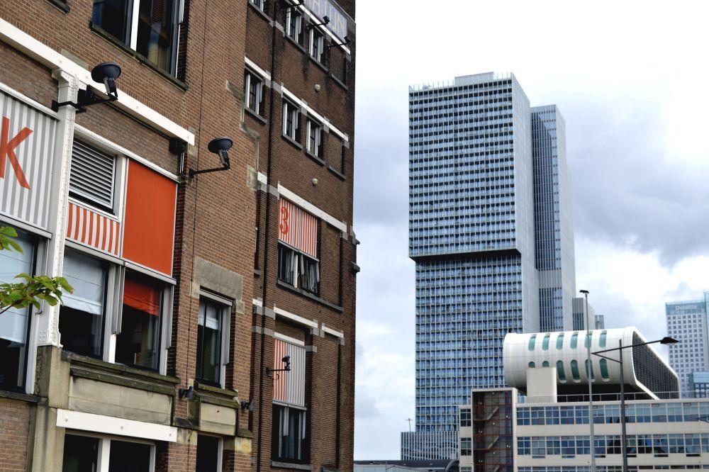 Hôtel New-York Rotterdam Human Waves De Rotterdam