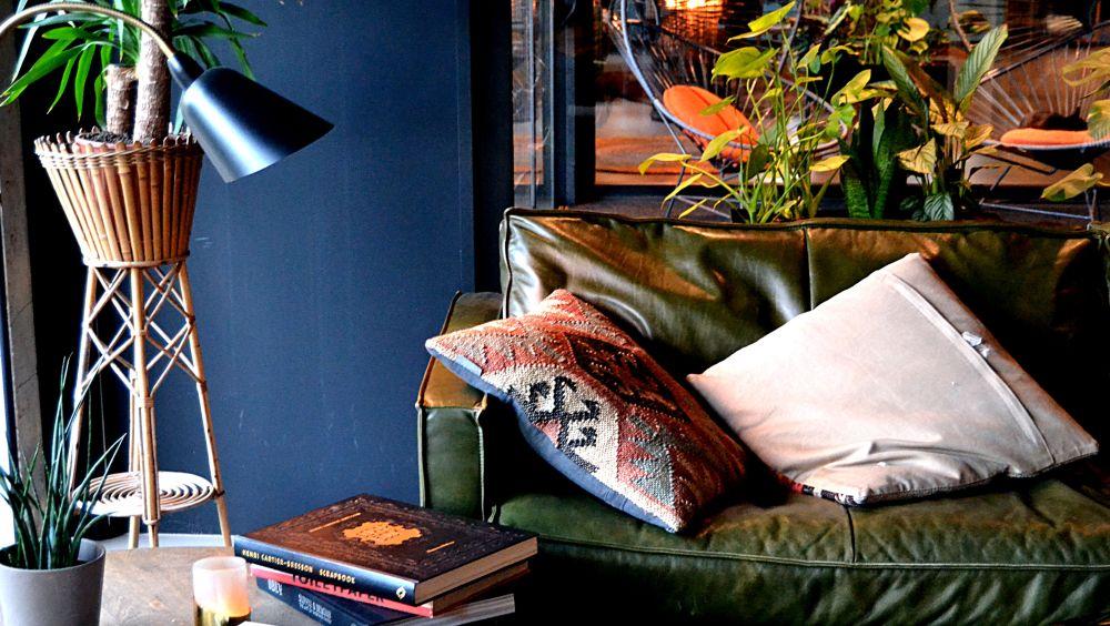 Hôtel V Fizeaustraat : ambiance rétro-jungle à Amsterdam lounge