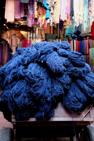 Colors of the souk, 5 ways to explore Marrakech, Take time to immerse yourself in Jamaa el Fna square, Medina, Marrakech, Marocco