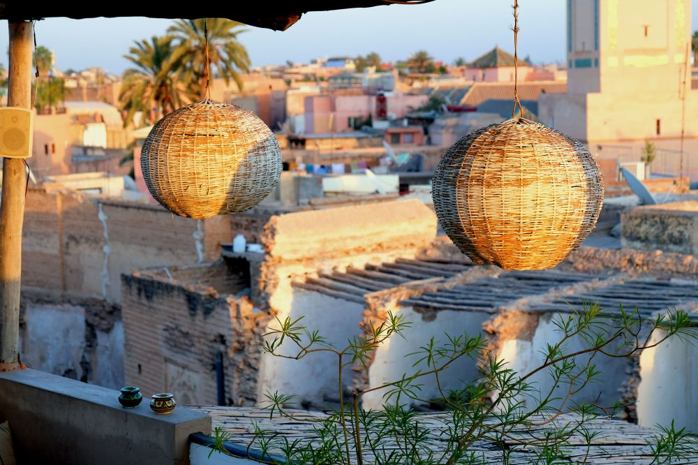 Sunset, Atay Café, Contemplate the city from its rooftops, 5 ways to explore Marrakech