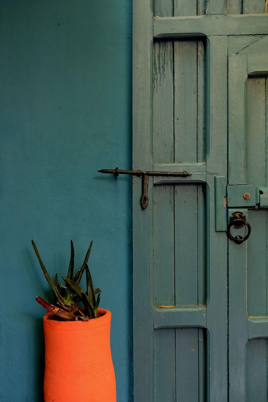 Door Majorelle