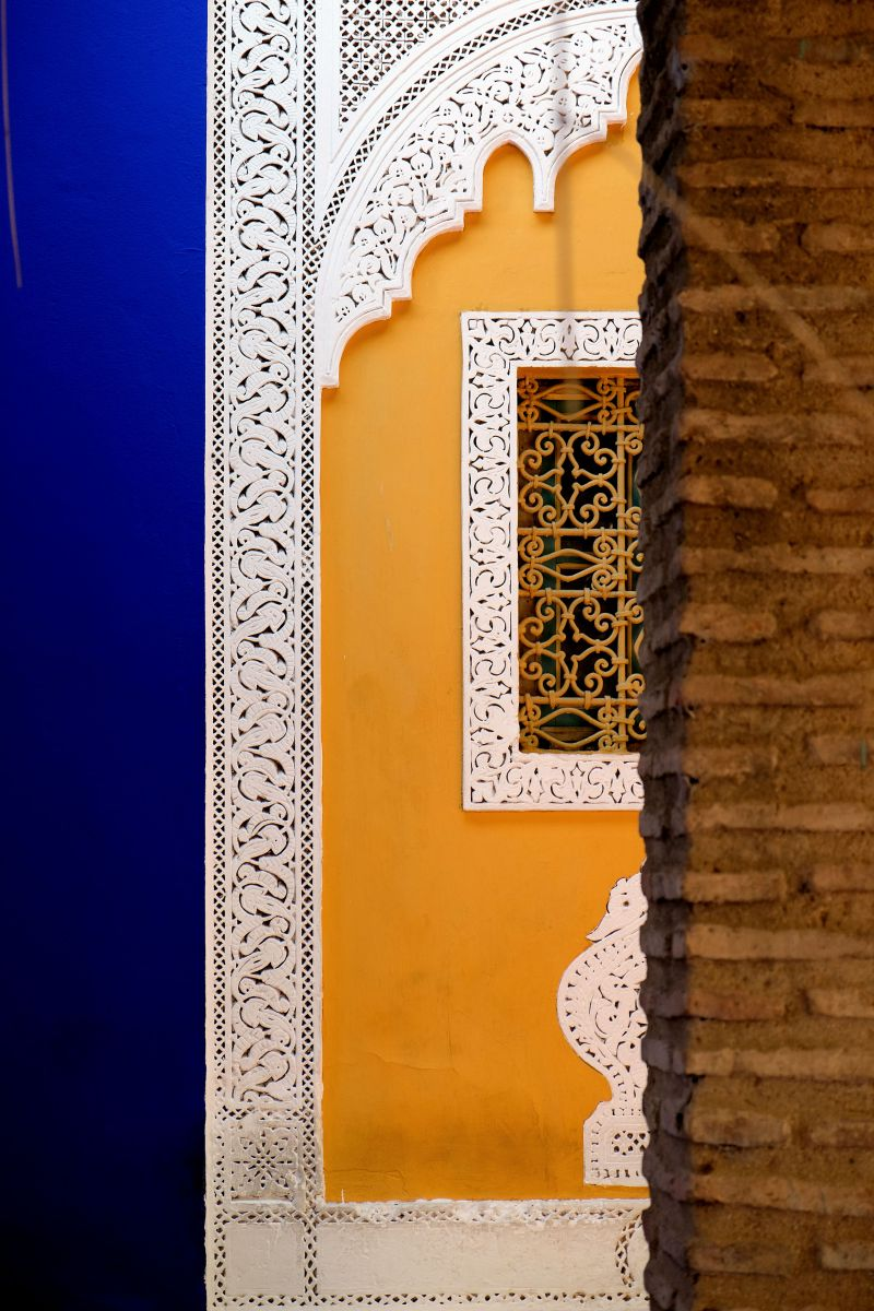 Escape from the Outside World in the Majorelle Garden