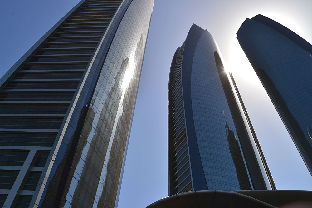 AbuDhabi-skyscrappers