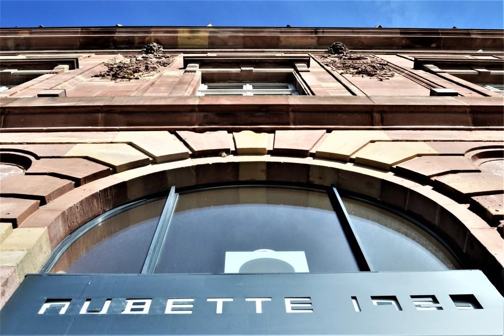 Aubette 1928 Strasbourg Modern architecture Arp Van Doesburg façade