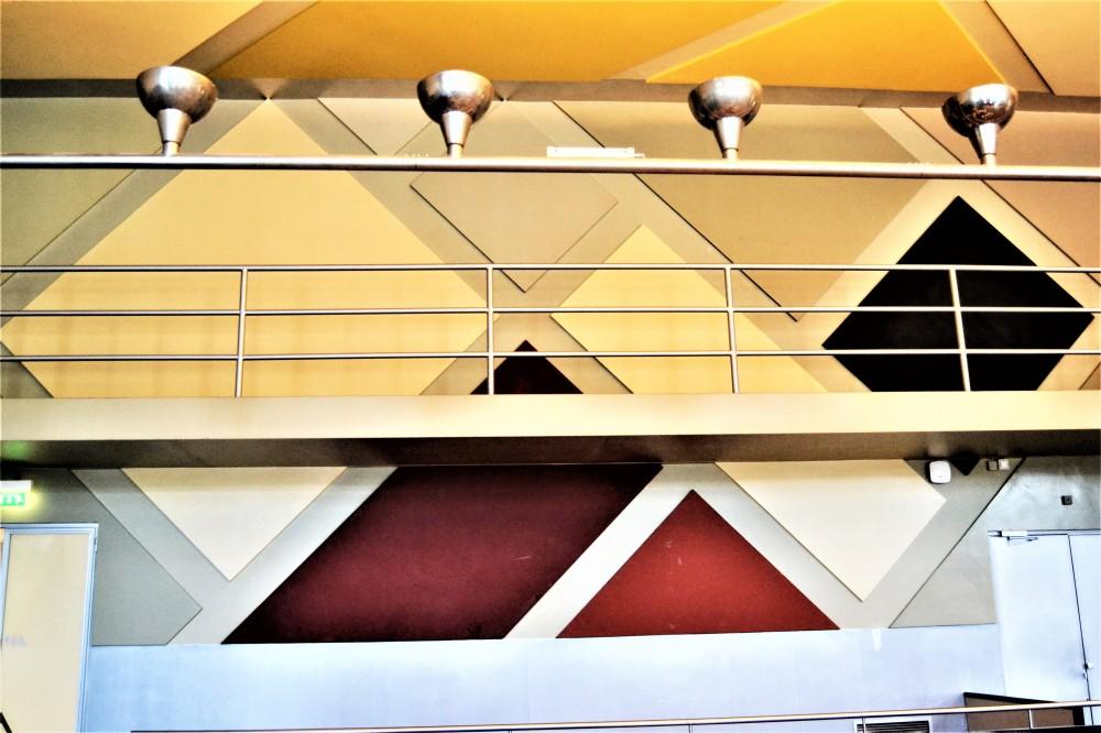 Aubette 1928 Strasbourg Modern architecture Arp Van Doesburg inside