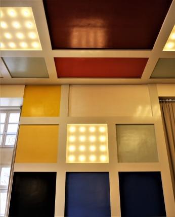 Aubette 1928 Strasbourg Modern architecture Arp Van Doesburg squares